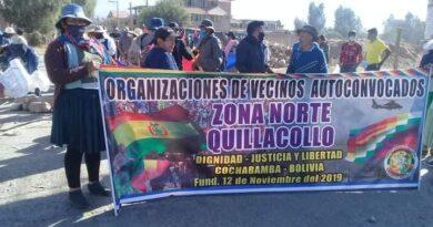 BOLIVIA ESTÁ BLOQUEADA CON AL MENOS 50 PUNTOS ACTIVOS