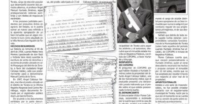 Hábil inquilino chapó título de propiedad formalizado irregularmente por Cofopri EXALCALDE SE ADUEÑA DE  CASA QUE NO LE PERTENCE